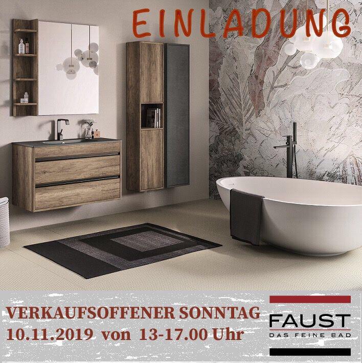 Einladung Herbstschau Badausstellung zur Badsanierung & Baddesign in Haßfurt